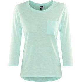 Patagonia Mainstay Camiseta de manga larga Mujer, bend blue